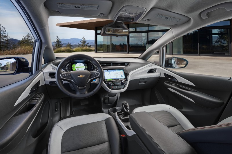 Interior Of Chevrolet
