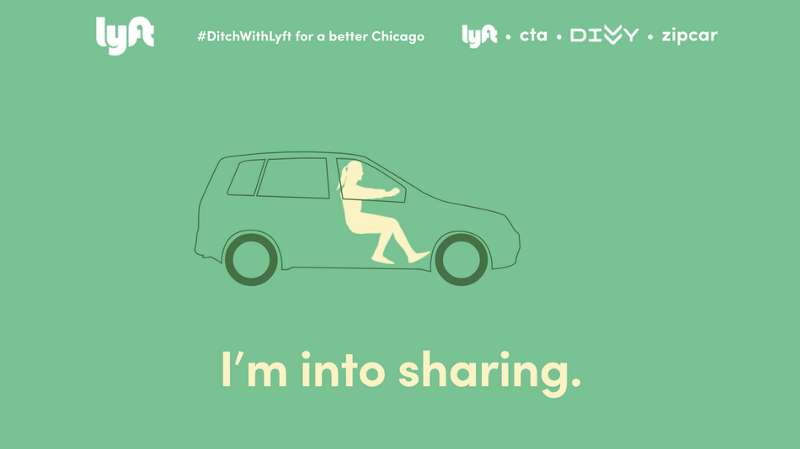 Carsharing Infographic For Lyft's Campaign
