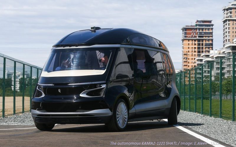 Kamaz Self-driving Car Prototype
