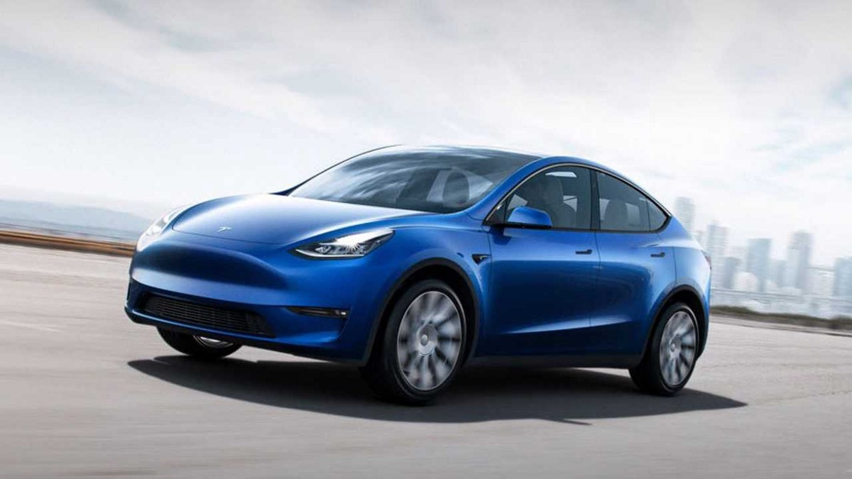 Tesla Launches Model Y