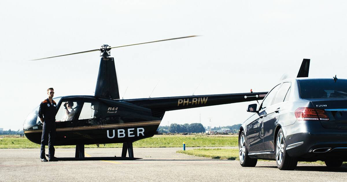 Uber Copter Service