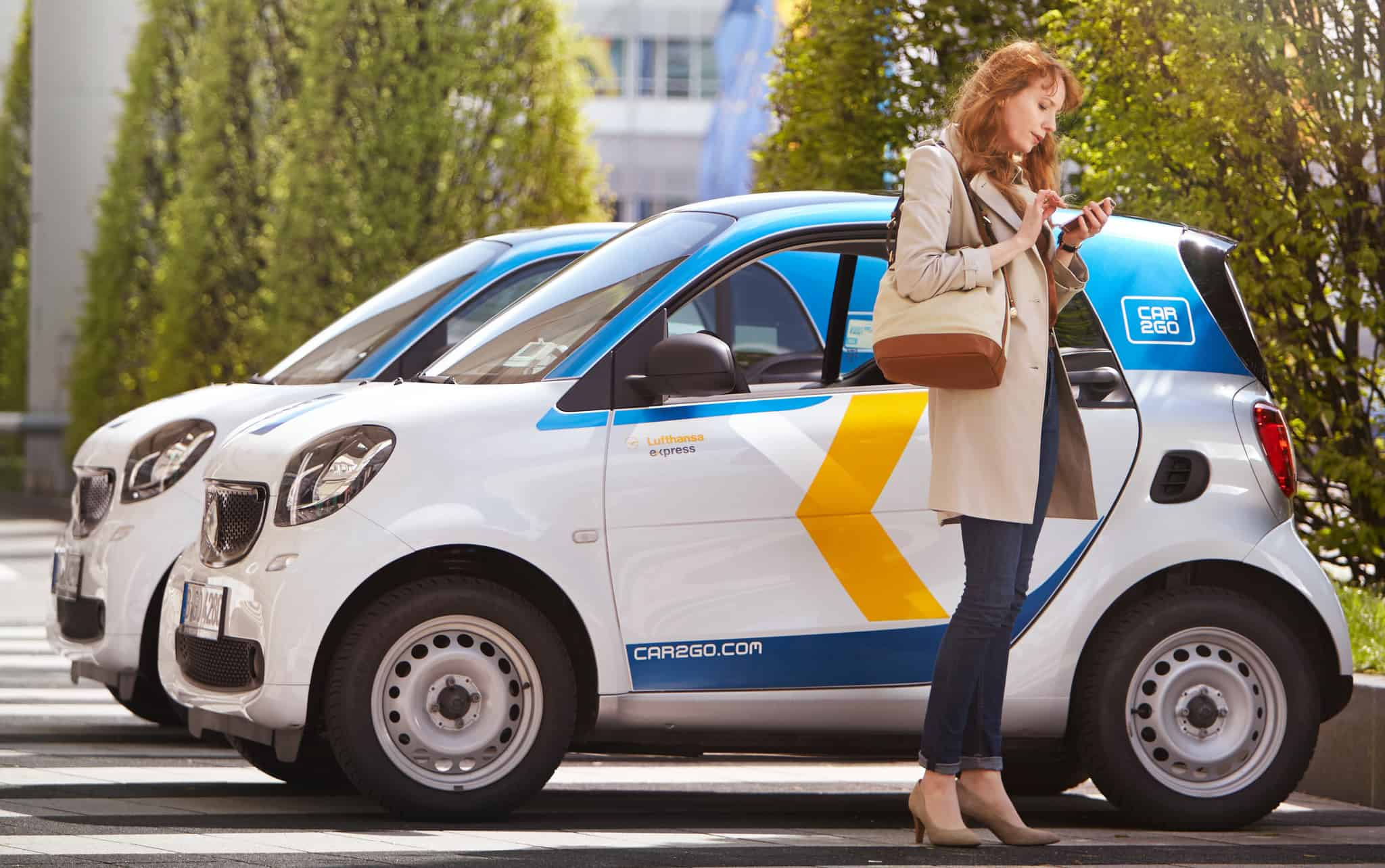 Car2go And Lufthansa Carsharing Service